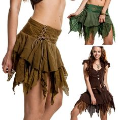 ELFIN FAIRY SKIRT, pixie skirt, psy skirt, psy trance clothing, festival pixie in Clothes, Shoes & Accessories, Women's Clothing, Skirts | eBay!