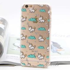 CUTE baby unicorn clear flex iPhone 6/s case Brand new!! And so frickin cute. Just an outside flex shell but so adorable and lightweight. 3 avail let me know and I'll make you a separate listing :) Accessories Phone Cases