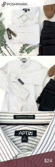New APT 9 Men/'s Modern-Fit Plaid Brushed Flannel Button-Down Shirt Big 3X 4X $56