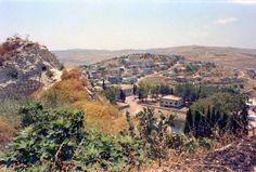 LEBANON, SOUTH, VIEW OF TIBNINE
