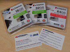 Il drive Flash DataTraveler® microDuo di Kingston offre storage aggiuntivo in https://plus.google.com/+InfoshopsrlIt/posts/TxVn6289twq