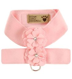 Designer Dog Harness Tinkie's Garden Pink (More Colors)