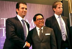 -Philippine relations have been rocky. The new trade envoy tasked with improving them is a Philippine real estate magnate who's already working with Donald Trump on a major building project. Trump International, International Development, White House Trump, Evolutionary Biology, Rodrigo Duterte, Trump Tower, Evil People, Us Politics, Foreign Policy