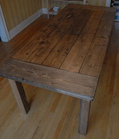 kitchen table diy love this maybe as a coffee table instead tho since we have a brand new kitchen table