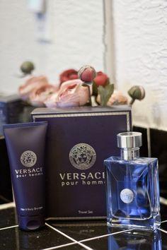 Mom of 4 Boys reviews Versace #cologne gift set