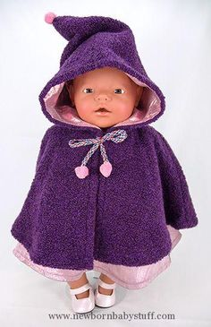 Baby Accessories Free Doll Cape Pattern, BD1606: 1) drive.google.com/......