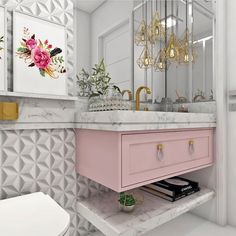 New Bathroom Wallpaper Grey Wallpapers 27 Ideas Interior Design Boards, Bathroom Interior Design, Easy Home Decor, Home Decor Trends, Dream Bathrooms, Amazing Bathrooms, Interior Decorating Styles, Bathroom Wallpaper, Gray Wallpaper