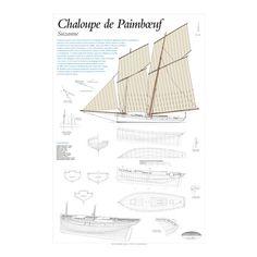 Suzanne, Chaloupe de Paimboeuf, plan de modélisme | Pratiquant la pêche dans l'estuaire de la Loire, les chaloupes de Paimboeuf, également appelées « paimblotines », disposent d'une immense voilure, à la fois gracieuse et puissante. Elle leur permet, en régate, de damer le pion à des bateaux réputés très rapides | A retrouver sur : http://www.chasse-maree.com/modelisme/5377-plan-de-modelisme-suzanne-chaloupe-de-paimboeuf.html