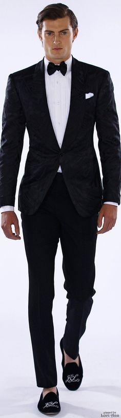 Ralph Lauren ~ Black Formal Attire for Spring 2016