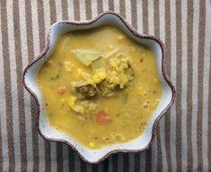 a curious soup: southwest curry chowder