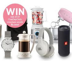 WIN one of 10 OneDayOnly vouchers worth Daily Deals Sites, Deal Sites, Online Deals, Competition