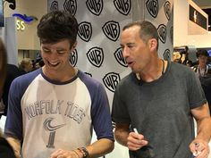 Grant and Tom cast at San Diego Comic Con (SDCC) 2017