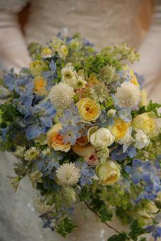 新郎新婦様からのメール 海と光のブーケ 山手ロイストン教会さまへの画像:一会 ウエディングの花