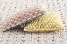 Rectangular hand embroidered fabric cushion Silaï Collection by GAN By Gandia Blasco | design Charlotte Lancelot
