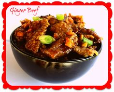 Delicious Fat Burning Ginger Beef - low carb