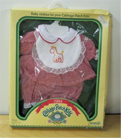 Omg this was Frieda Jilly's bib!! -Vintage Cabbage Patch Kids