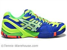 For Men: Asics Gel Resolution 4 exclusively at Tennis Warehouse.