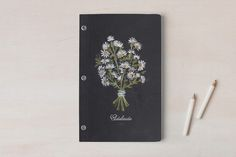 Wildflowers Day Planner, Notebook, or Address Book by JeAnna Casper at minted.com