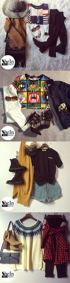 Glamourous look -SheIn