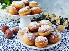 Ala piecze i gotuje: Mini pączki Pretzel Bites, Hamburger, Muffins, Bread, Cookies, Ale, Mini, Food, Crack Crackers