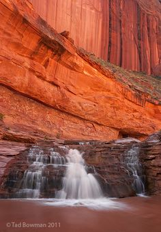 CANYON WATERFALLS Grand Staircase-Escalante National Monument, Utah