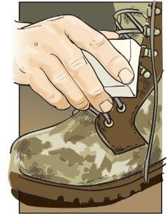 Fewer Burrs To help shed burrs easily, rub the laces of your hunting or hiking boots with paraffin before hitting the trail.