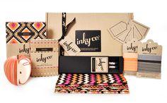 inky co identity branding design Lettering, Typography Design, Logo Design, Brochure Design, Craft Packaging, Packaging Design, Identity Design, Identity Branding, Corporate Identity