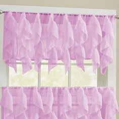 "You'll love the Canne Handkerchief 50"" Curtain Valance at Wayfair - Great Deals on all Décor  products with Free Shipping on most stuff, even the big stuff."