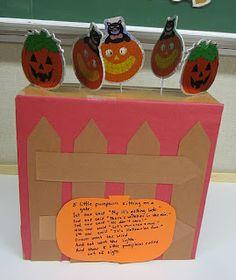 StrongStart: Five little pumpkin play