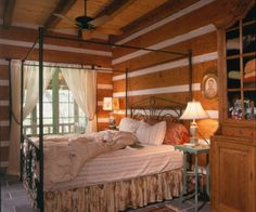 Smith Windridge Photo Gallery | StoneMill Log & Timber Homes