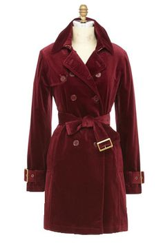Dressy Trench Coat, Jane Post, $475; NeimanMarcus.com