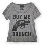 Buy Me Brunch Scoop Neck   Buy Me Brunch