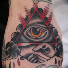 traditional eye of providence tattoo - Google Search