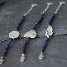 Tutti & Co Jewellery Blue or Grey Stone Connector Heart Bracelet Now £12.99 from Lizzielane.com http://www.lizzielane.com/product/tutti-co-jewellery-blue-grey-stone-connector-heart-bracelet/