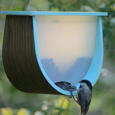 Aqua Blue Bird Feeder - Naturally Organized Under $100 Collection - Dot & Bo