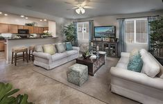 Barbosa New Home Plan in Discovery at Solare Ranch by Lennar Single Story Homes, Phoenix Homes, New House Plans, Kitchenette, New Homes For Sale, Guest Suite, Open Floor, Square Feet, Discovery