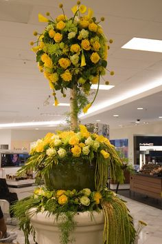 Walpole MA Florist Charlotte Design specializes in corporate event flowers, and private party flowers in the Boston area Yellow Flower Arrangements, Tropical Floral Arrangements, Floral Centerpieces, Yellow Flowers, Wedding Reception Flowers, Bridal Flowers, Wedding Ideas, Wedding Receptions, Hotel Flowers