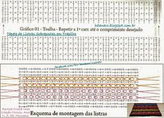 Crochet: mats and rugs Painting Carpet, Beige Carpet, Bedroom Carpet, Diy Crochet, Carpet Runner, Periodic Table, Chain, Rugs, Knitting