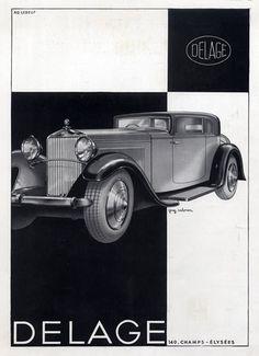 Delage (Cars) 1931 Guy Sabran