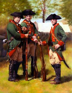 Hessian Jaegers in Virginia