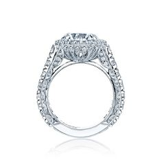 I think this one's my fave.  Not getting married, but have always LOVED to look at Tacori :) #Tacori style no. HT2613RD10. A beautiful new style from Tacori.