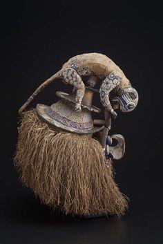 Mask. African, Yaka peoples, Democratic Republic of the Congo, 1950-2000