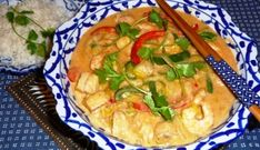 Romige Thaise Viscurry Met Prei &; Paprika recept | Smulweb.nl