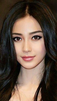 Posted by Sifu Derek Frearson Beautiful Girl Image, Beautiful Asian Women, Beautiful Celebrities, Beautiful Eyes, Beauty Full Girl, Beauty Women, Girl Face, Woman Face, Brunette Beauty