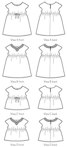 Oliver + S | Roller Skate Dress + Tunic Sewing Pattern | Age 5-12