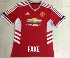 Las primeras imágenes de la camiseta Adidas del Manchester United son falsas