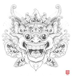 Balinese Barong (by BigKahuna70) – a great illustration of the Barong.