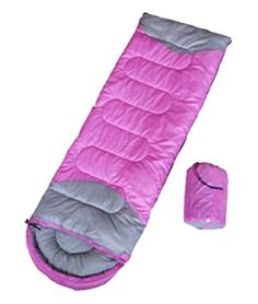 Generic Single Person Sleeping Bag 45 Degree Pink ** You can get additional details at the image link.