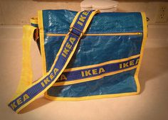 Ikea Messenger Bag | IKEA Hackers Clever ideas and hacks for your IKEA. I need to make this oh my goshhhh