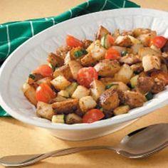 Herbed Potatoes and Veggies
